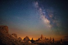 Trona Pinnacles and the Milky Way by Ian Norman on 500px