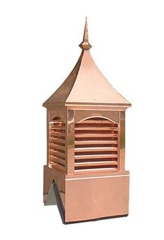 Curve Top Copper Cupola