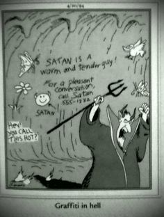 the far side | jokes about heaven and hell. Religious humor