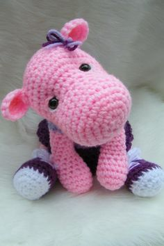 crochet+hippo+pattern+free | Vintage Toy Patterns, Scotty Dog Pattern, Cat Patterns, Teady Bear