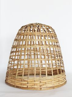 Cloche, Bamboo – Willow Trading #willowtrading