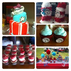Thing 1 & thing 2 birthday party