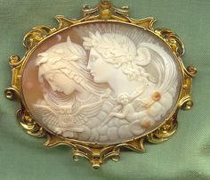 Antique Cameos: old victorian, shell, coral and hardstone cameos ...