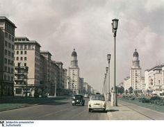 East-Berlin Stalinalle/Karl-Marx-Allee 1957