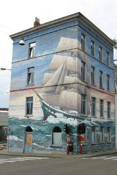 L'immeuble prend la mer ! / Sweet sails.