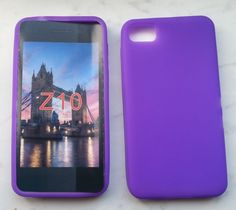 Silikon Case / Cover für Blackberry Z10 Lila