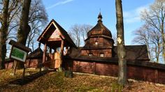 Wooden greek catholic church 1742 in east of Poland looks like new.