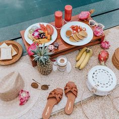 Tropical breakfast. 🍍🍌🥞  Regram via  sincerelyjules Recipe Of The Day a1ee35e50e849
