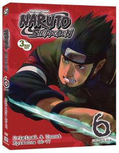 Naruto: Shippuden DVD Set 6 (Hyb) Uncut #RightStuf2013