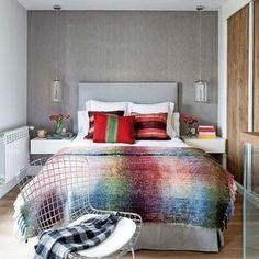 Dormitorio: Pepel gris en dormitorio