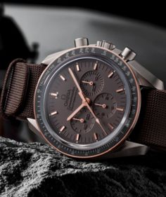 OMEGA Speedmaster MoonWatch Titanium, and a touch of gold