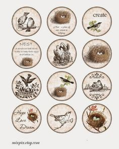 Imprimolandia: Imágenes circulares para imprimir (1)