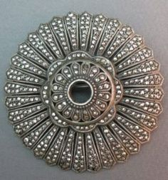 love this marcasite brooch