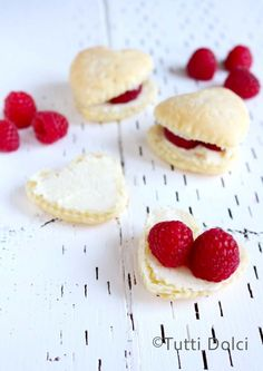 Each flaky puff pastry heart