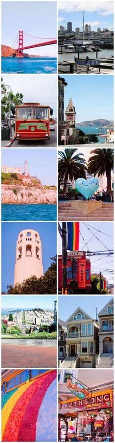 LEAVE YOUR HEART IN SAN FRANCISCO ♥️ In San Francisco you'll find the juxtaposition of the flamboyant, gay-and-proud Castro region nestled between the gorgeous, looming, gothic architecture of Grace Cathedral and the Zen serenity of the Japanese Tea garden. The city is home to many iconic sights. The instantly recognizable Golden Gate Bridge, the Victorian-style homes known as the Painted Ladies, and San Francisco's vintage cable cars. Here are our top 25 San Francisco sights to start with