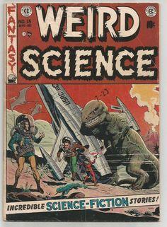 WEIRD SCIENCE #15 EC COMICS 1st print & series WALLY WOOD 1952 Al Williamson
