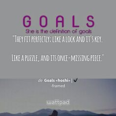 """They fit perfectly; like a lock and it's key.  Like a puzzle, and its once-missing piece."" - de Goals «hoshi» 