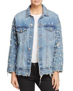 Veste en jean vintage femme pas cher