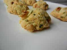 cookies pignons basilic