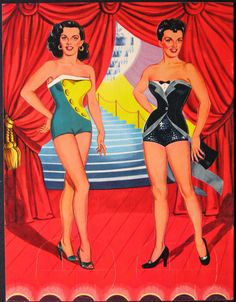 Jane Russell paper dolls.