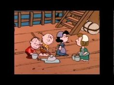 This is America Charlie Brown, The Mayflower Voyagers Part 1