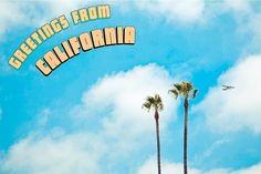 postcard from california - Google Search