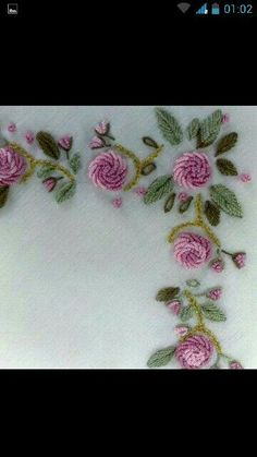 Getting to Know Brazilian Embroidery - Embroidery Patterns Hand Embroidery Dress, Hardanger Embroidery, Flower Embroidery Designs, Learn Embroidery, Rose Embroidery, Silk Ribbon Embroidery, Brazilian Embroidery Stitches, Hand Embroidery Stitches, Embroidery Techniques