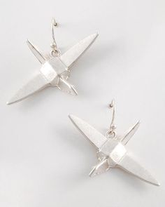 $14 Origami Crane Earrings - Q Clothing Boutique