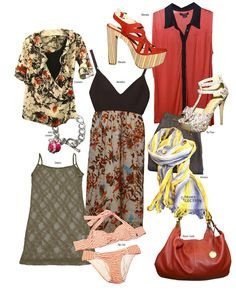 Flores y Transparencias - Revista J  #summer  #loveit #fashionnews #fashiontips #shopping