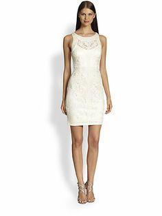 Sue Wong - Soutache Embroidery Illusion Dress - Saks.com