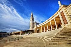 Fátima Sanctuary - Visit with ON Tours Orlando, Lady Of Fatima, Colourful Buildings, Group Tours, Fishing Villages, Out Of This World, Beach Fun, Home And Away, Pilgrimage