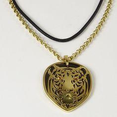 Men's Carrera Y Carrera 18 Karat Yellow Gold Tiger Pendant Necklace. Gold Necklace, Pendant Necklace, Art Auction, Men's Jewelry, Carrera, Gems, Bronze, Diamond, Yellow