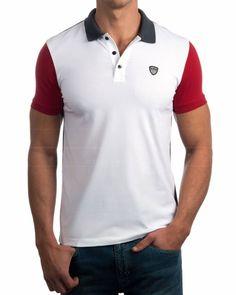 Polo Emporio Armani Tennis Classic M Polo 1 - Azul Marino Polo Rugby Shirt, Polo T Shirts, Polo Outfit, Emporio Armani, Lacoste, Work Wear, Shirt Designs, Polo Ralph Lauren, Casual