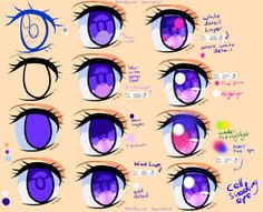 Perfect Tutorial For Copic Markers Step By Step - Manga Eye Cell shading TUT by Saviroosje Eye Drawing Tutorials, Drawing Techniques, Art Tutorials, Manga Eyes, Anime Eyes, Draw Eyes, Digital Art Tutorial, Digital Painting Tutorials, How To Shade