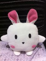 DIY Bunny Rabbit Cushion Tutorial with FREE Pattern