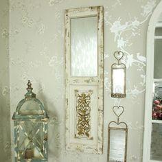 Rustic Door Style Mirror