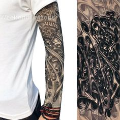 Ladies Gothic Tribal Tattoo Sleeve Celtic Rose Opaque Tights Fancy Dress Hosiery