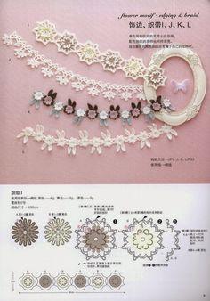Scheme de tricotat bijuterii croșetat și accesorii - lucrate manual-Paradise