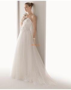 Scintillant & brillant Printemps Appliques Robes de mariée 2015