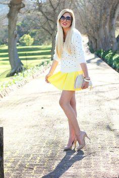 Look of the day - Sunshine | Teen Vogue — Fashion starts here | TeenVogue.com