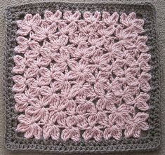 Ravelry: In Treble Afghan Square pattern by Julie Yeager