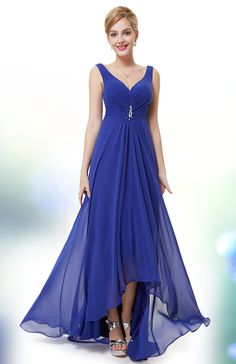 I love how nice and flowy this dress is, and such a gorgeous color.