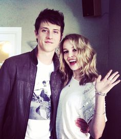 Shane Harper & Bridgit Mendler... Shane started talking to his Good Luck Charlie co-star Mendler about faith at the beginning of their friendship. They continued the conversation for two years, with Shane using the apologetics and theology he was studying, before she came to profess Christ. The two are now dating and attend church together.