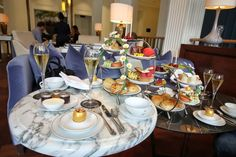 Honey Afternoon Tea (Waldorf Astoria Amsterdam)