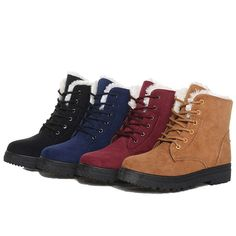 b4c13b525637 Winter Lovers Women Boots Warm Snow Boots Women Ankle Boots Heels Fashion  Platform Shoes Female Boots