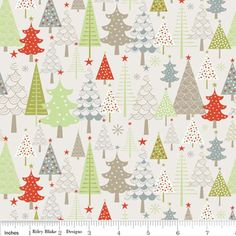A Merry Little Christmas - Merry Trees in Taupe