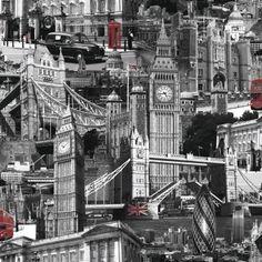 London wallpaper.