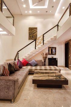 House Hall Design, Modern Exterior House Designs, Small House Interior Design, Home Stairs Design, Home Building Design, Modern Bedroom Design, Home Room Design, Home Design Plans, India Home Decor