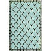 Found it at Wayfair - Ravella Floor Tile Aqua Indoor / Outdoor Rug