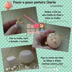 Carlitos Planners, Christmas Crafts, Christmas Ornaments, Pasta Flexible, All Craft, New Hobbies, Charlie Brown, Cake Toppers, Polymer Clay